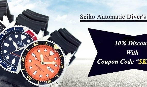 Seiko Automatic SKX Series Diver's Watches On Sale – Coupon Code Inside!!