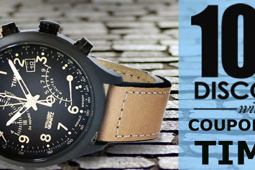 Timex Watches On Sale – Additional 10% discount code inside!!!