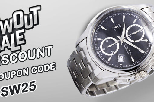 Blowout Sale on Watches – Up to 75% off with Free Worldwide Shipping!