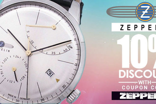 Zeppelin Watches On Sale – Coupon Code For Discount Inside!!
