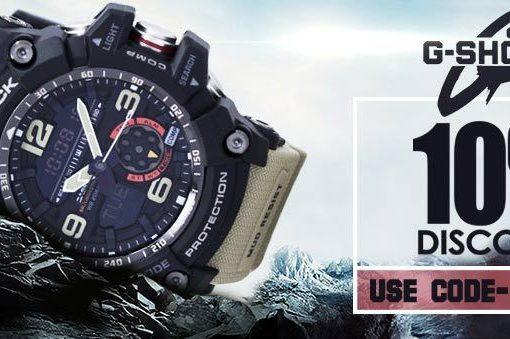 Casio G-Shock Watches on Sale – Discount coupon inside!!!