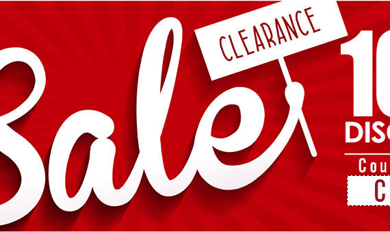 Clearance Sale on Watches – 10% Discount Coupon Inside!!