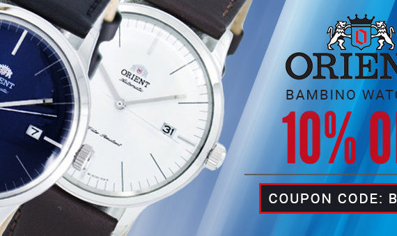 Orient Bambino Watches On Sale – Coupon Code Inside!!