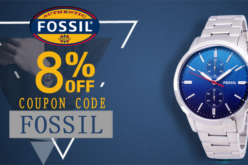 Fossil Watches On Sale – Additional 8% discount code inside!!!