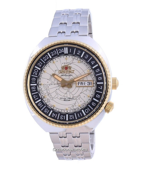 Orient World Map Revival Automatic Diver: How it works as a re-issue